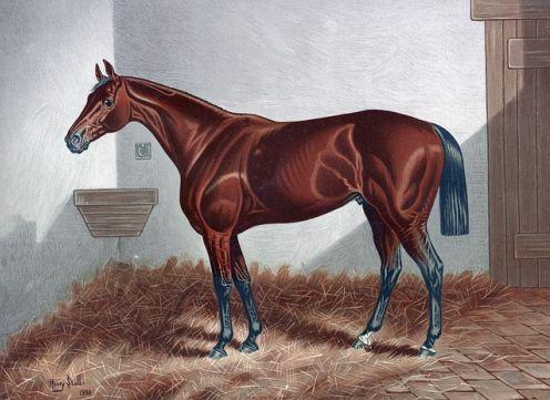 arte impresionista caballo