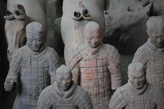 arte chino terracota