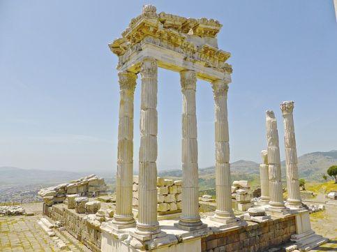 tipos de arquitectura ruinas