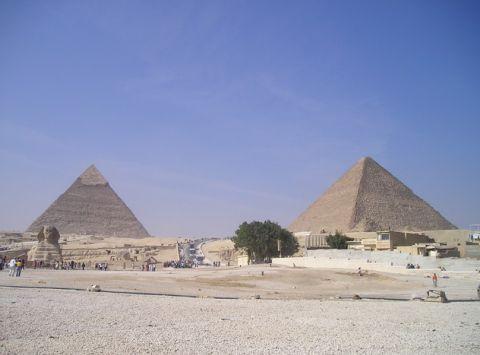 arte antiguo piramides