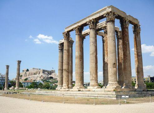 arte helenistico templo