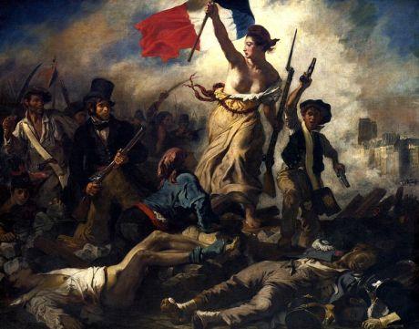 arte romántico francia