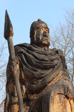 arte celta estatua