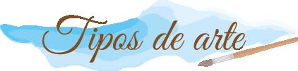 logotipo tipos de arte