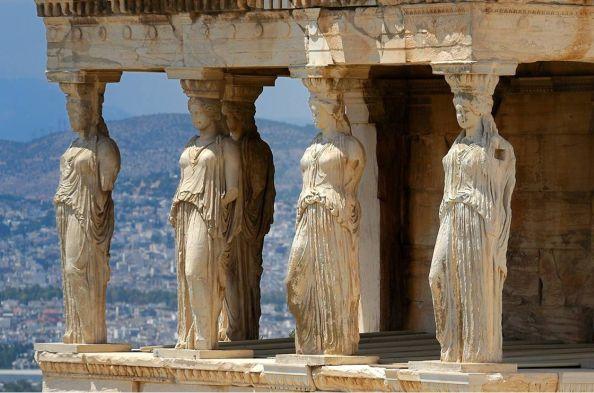 Arquitectura Arcaica, un estilo muy básico y simple