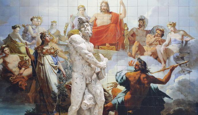 Historia de la pintura Griega,murales griegos