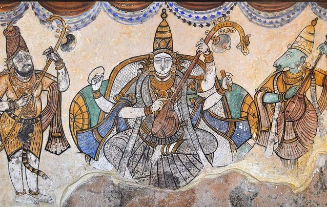 La Pintura de la India,influencia de las costumbres y tradiciones
