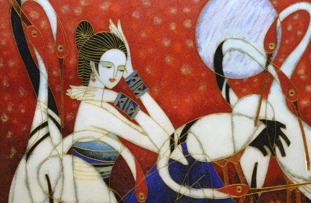 La Pintura Oriental,diversidad en el color, forma y estilo
