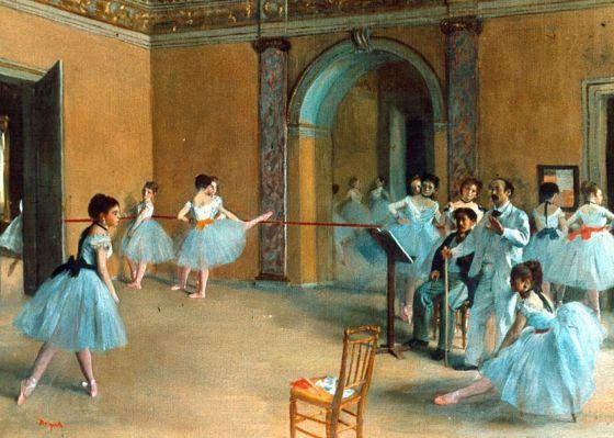 Biografía de Edgar Degas (1834 -1917), habilidad para el dibujo