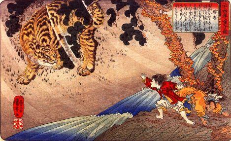 Utagawa Kuniyoshi (1798-1861)Biografía Corta - técnicas y obras