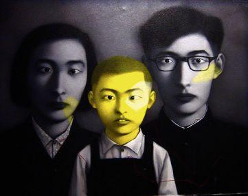 Zhang XiaogangBiografía Corta - técnicas y obras