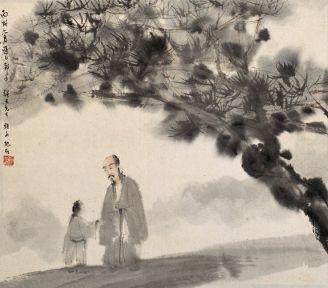 Fu Baoshi (1904-1965)Biografía Corta - técnicas y obras