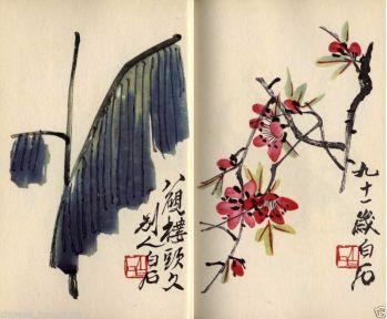 Qi BaishiBiografía Corta - técnicas y obras