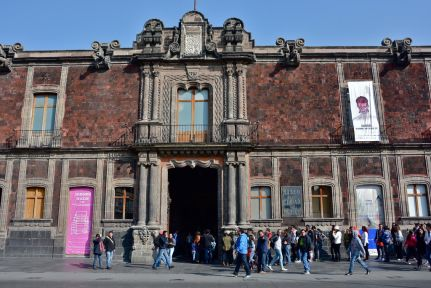 Museos de Arte de Ciudad de México - Arquitectura eléctrica