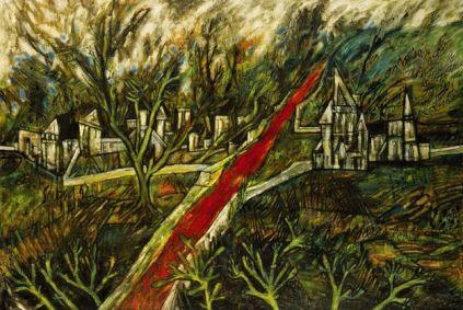 Biografía de Francis Newton Souza -Pintura expresionista